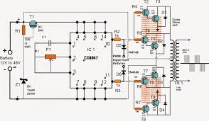the post explains how to build a simple sinewave inverter circuit