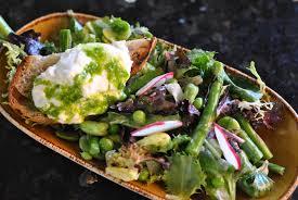 Best Salad Recipes Best Green Salad U0026 Burrata Cheese Crostini Recipe