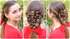 hairstyles youtube how to create a banded puff braid cute hairstyles makeup videos