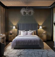 bedroom art deco home master house bedroom with interior built in