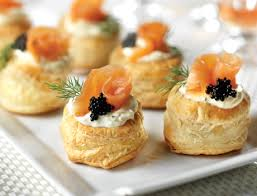 puff pastry canape ideas smoked salmon blini puffs puff pastry