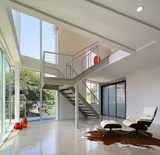 simple and minimalist residential interior and exterior design of