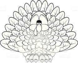 thanksgiving turkey bw stock vector art 165593917 istock