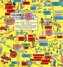 Map Of Columbus Ohio Area by Brady U0027s Lorain County Nostalgia Wonderful World Of Ohio Map Part 2