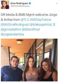 jorge anfisa what does he do jorge and anfisa sign with the same d list agency that signed
