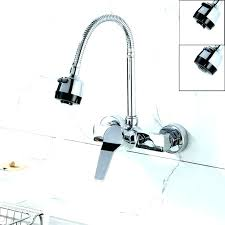 wall mount kitchen faucet with sprayer kitchen faucet sprayer pizzle me