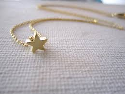 Wedding Gift Jewelry Tiny Gold Star Necklace Simple Handmade Jewelry Everyday Bridal