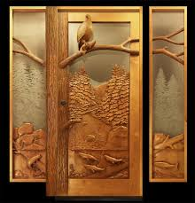 Door Design Ideas by Carved Eagle Door Design Ideas Advice For Your Home Decoration