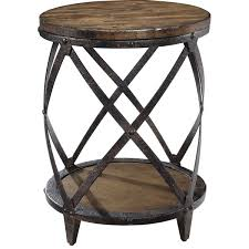 Drum Accent Table Drum Accent Table For Endearing Drum Accent Table Finelymade