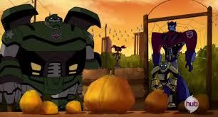 halloween transformers episode appreciation 1 along came a spider