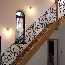 Metal Stair Banister Creative And Artistic Wrought Iron Gates Railings And Balustrades