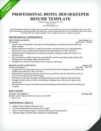 sample resume for cashier retail stores professional housekeeper