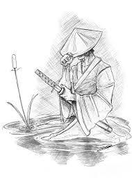 ronin samurai digital art by baron pollak