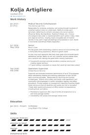 medical records clerk resume samples visualcv resume samples