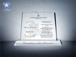 retirement plaque book retirement plaque etched award plaque sles