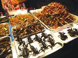 insectes dans la cuisine thaïlande vendre des insectes aux touristes une idée