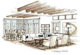 interior sketches interior design sketches living room n bimum co