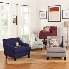 Accent Chairs Blue Living Room Chairs Shop The Best Deals For - Blue accent chairs for living room