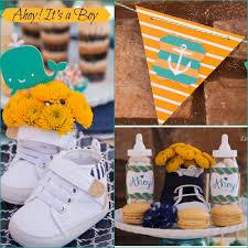 party ahoy it u0027s a boy nautical baby shower creative juice