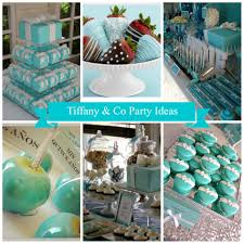 tiffany u0026 co party ideas little party love