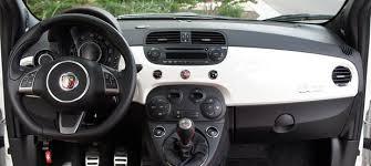 Fiat 500 Interior 2012 Fiat 500 Abarth Review W Video Autoblog
