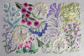 pretty surface embroidery kits for learning