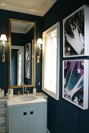 jamie drake design navy blue bathroom dream home ideas pinterest
