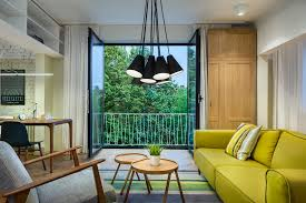 Midcentury Modern by A Colorful Mid Century Modern Apartment In Sofia You Need To See