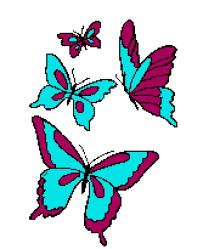 4 butterflies tunisian simple stitch crochet afghan graph pattern