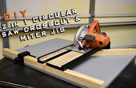 Saw For Cutting Laminate Flooring 2 In 1 Circular Saw Crosscut U0026 Miter Jig Limited Tools Episode