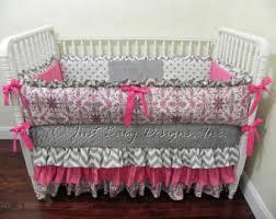 endearing orange and pink baby bedding fantastic furniture home