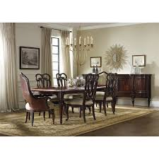 hooker furniture 5272 75200 grand palais rectangle leg dining