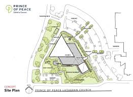 site plan capital caign update concept site plans prince of peace