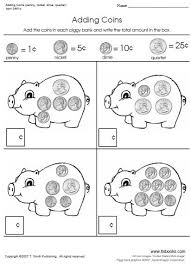 adding coins worksheets on the first worksheet in this set your
