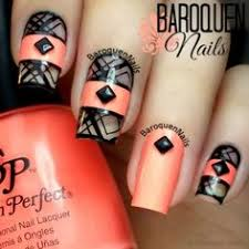 orange nail polish nail art u0026 designs pinterest orange nail