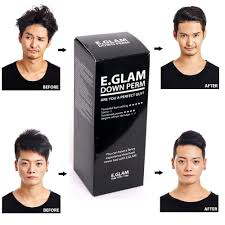 hair relaxer for asian hair amazon com e glam down perm for men speedy easy magic straight