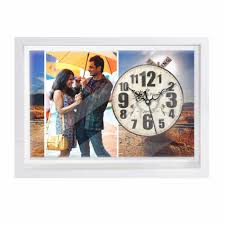 personalized picture clocks buy personalized wall clock online dezains