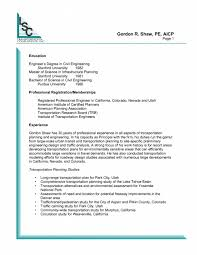 Resume Stanford Download City Traffic Engineer Sample Resume