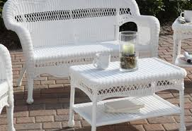 Settee Cushion Set by Patio U0026 Pergola Cool Black And White Rectangle Modern Wood With
