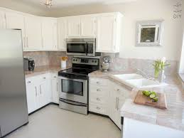 Refinish Kitchen Cabinet Good How To Refinish Kitchen Cabinets White Painting Oak Cabinets