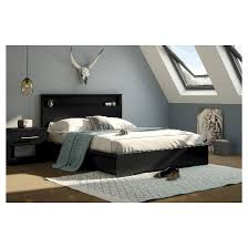 basic platform bed with storage south shore target