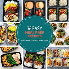 cuisine recipes easy 36 easy meal prep recipes dinner at the zoo