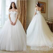 wedding dress discount cinderella wedding dress discount simple tulle shoulder