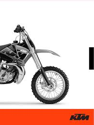 ktm motorcycle 65 sx user guide manualsonline com