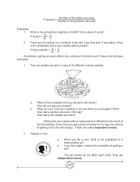 mathematics 8 basic concepts of probability