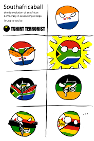 Africa Meme - polandball at the ballot box south africa ball by tshirt terrorist