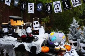 Halloween Decoration Party Ideas The Nightmare Before Christmas Party Disney Family