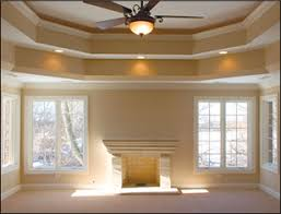 tray ceiling paint types tray ceiling