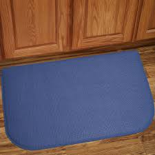 Comfort Mats For Kitchen Memory Foam Anti Fatigue Kitchen Floor Mat Honeycomb Blue