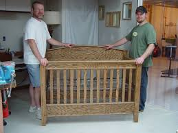 Convertible Crib Plans Solid Oak Baby Crib Made With My For His